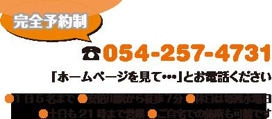 電話:054-257-4731