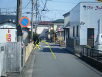 左手に昭和興業さん。
